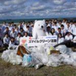 ノースランドが岩瀬浜海岸の清掃活動を実施