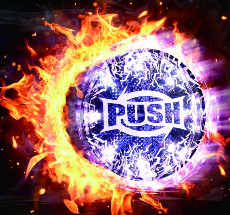 「PUSHボタン」のインパクトは絶大だ。