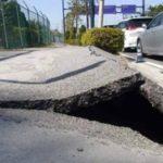 千葉県浦安市、液状化現象により大きな被害