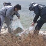 アサヒディード、大和川の清掃活動に参加