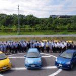 善都、各店舗に低燃費ハイブリッドカーを配備