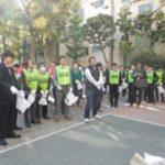 回胴遊商・関東甲信越支部が東上野周辺を清掃活動