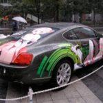 DXR-0レイちゃんの痛車、秋葉原で展示