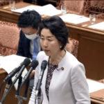 パチンコホールへの休業の働きかけについて、早稲田議員が政府見解を質す