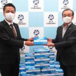 善都、豊田市社会福祉協議会にマスク1,000枚を寄贈