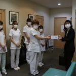 遊楽、医療施設を中心とした店舗近隣施設385ヵ所にマスク約16万1,500枚を寄付