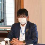 旧規則機の一部の撤去期限延長、阿部理事長が説明