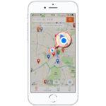 ピーワールドの「パチンコ店MAP」がバージョンアップ