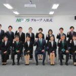 NEXUSグループ新入社員47名が入社、4会場で辞令授与式